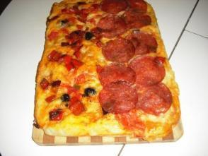Pizza in caserola