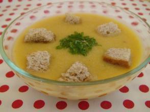 Supa - crema de pui cu legume