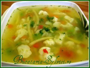 Supa de vara cu legume