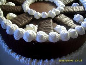 Tort de ciocolata cu menta