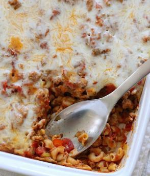 Reteta Macaroni cu carne la cuptor